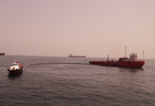 03 MAR Oil Spill Response Operation Boom Deployment