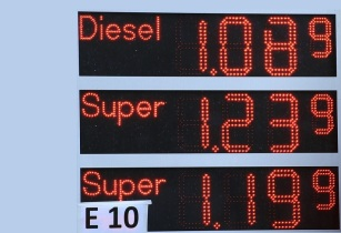 Ad Petrol Stations Gasoline Prices Oil Price Refuel 577348