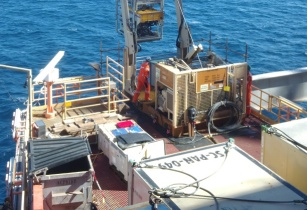 Fugro ROV Launching compr