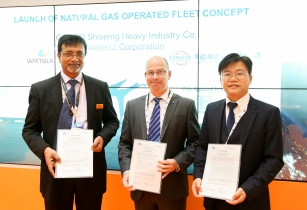 Wärtsilä announce joint development of LNG operating fleet concept with CHI