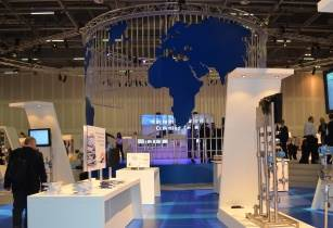 Solutions Exhibition in Stuttgart features a replica iOps installation