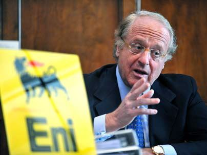 ENI, production, Q1, Libya, Italian oil firm,exports, North African state, 50,000-55,000 boepd, ENI chief executive Paolo Scaroni