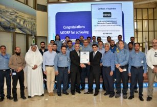 Intertek Certificate Handover to SATORP